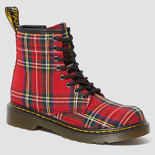 Juniors' [12-4] 1460 Tartan Boot
