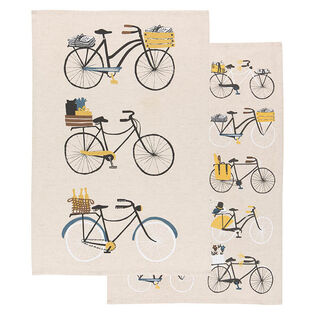 Bicicletta Dish Towel (Set Of 2)