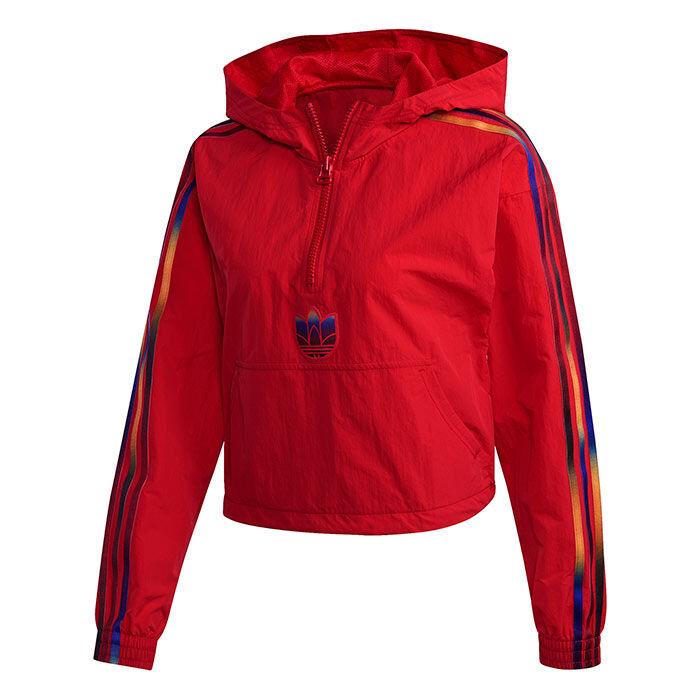 Women's Adicolor Half-Zip Crop Jacket