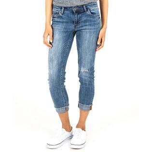 Women's Amy Crop Straight Jean