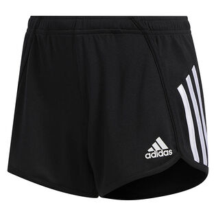 Junior Girls' [8-16] Stripe Mesh Short