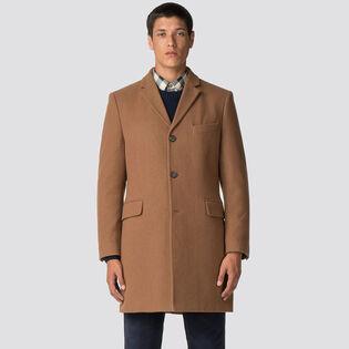 Manteau ajusté Crombie pour hommes