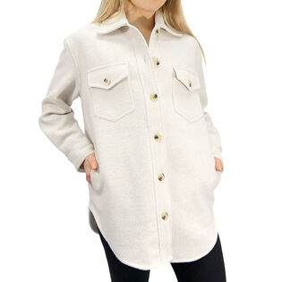 Women's Button-Up Shirt Jacket