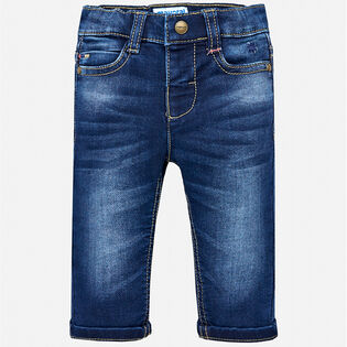 Baby Boys' [12-36M] Soft Wash Jean