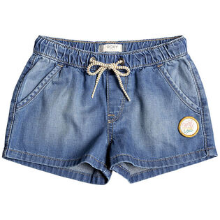 Girls' [3-7] Timeless Denim Short