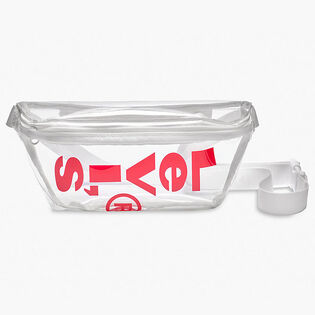 Unisex Clear Logo Sling Bag