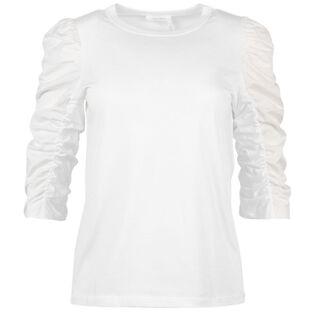 Women's Puff Shoulder Top