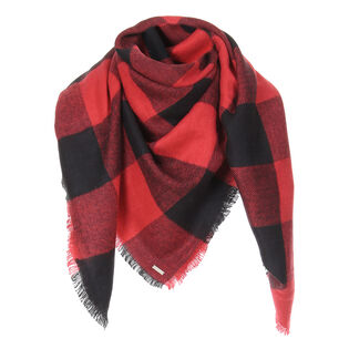 Women's Check Scarf