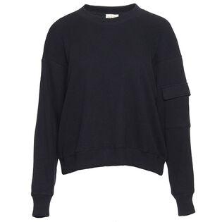 Weomen's Cargo Pocket Sweatshirt