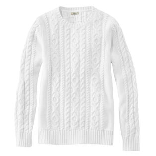 Women's Double L® Mixed Cable Sweater