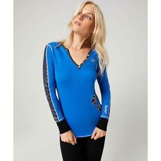 Women's Snow Racer Henley Top