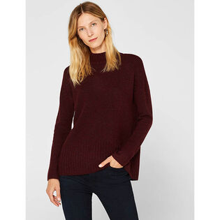 Women's Ribbed Melange Sweater
