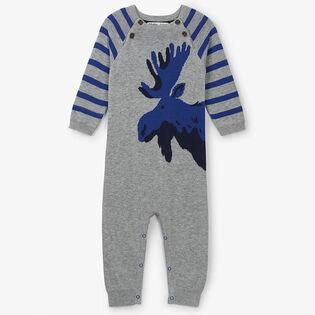 Combinaison Moose en tricot pour bébés garçons [3-24M]