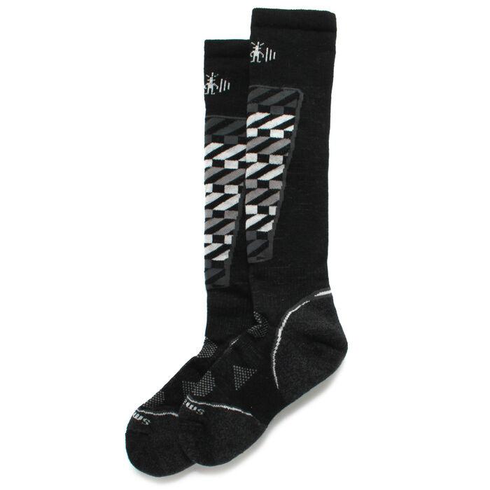 Men's Phd® Ski Light Pattern Over The Calf Socks