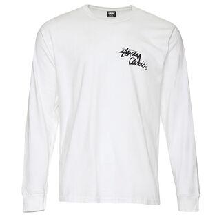 Men's Stussy A Go-Go Long Sleeve T-Shirt