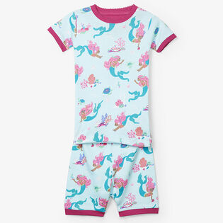 Girls' [2-7] Mermaid Tales Two-Piece Pajama Set