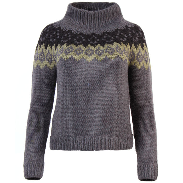 Women's Jacquard Cashmere Sweater