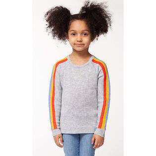 Girls' [2-6X] Rainbow Sweater