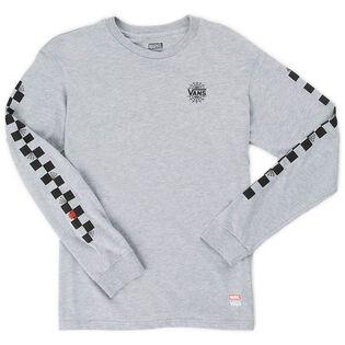 Junior Boys' [8-16] Marvel Long Sleeve T-Shirt