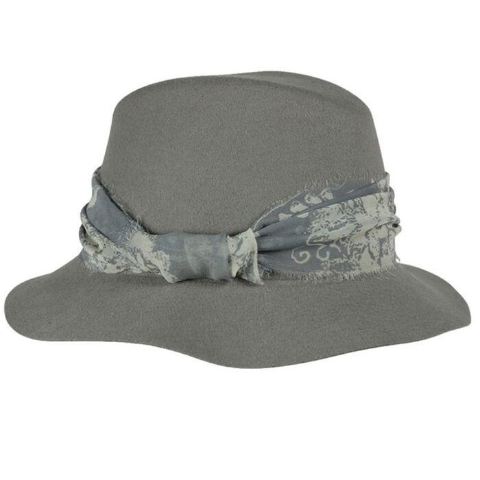 Women's Ribbon Fedora Hat