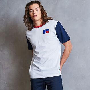 Men's Heritage Colourblock Chenille Badge T-Shirt