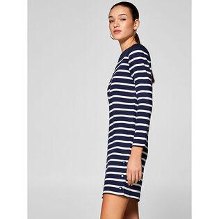 Women's Striped Sweater Dress
