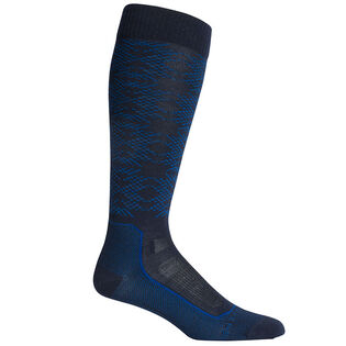 Men's Ski+ Ultralight Over-The-Calf Crystalline Sock