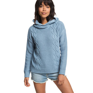 Women's Off To Dinner Knitted Hoodie