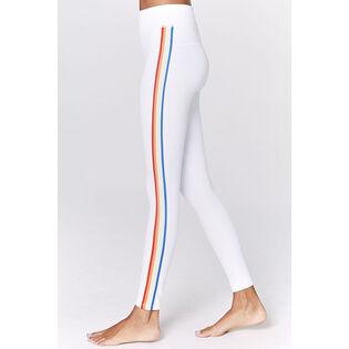 Women's Rainbow Stripe Track Tight
