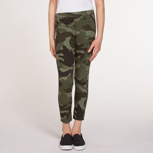 Junior Girls' [7-14] Camo Cargo Pant