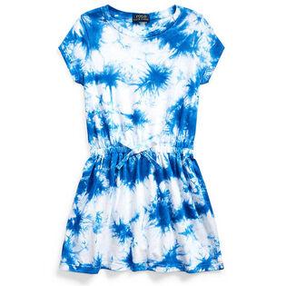 Girls' [5-6X] Tie-Dye Cotton Jersey Dress