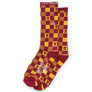 Men's Gryffindor Crew Sock (Medium)