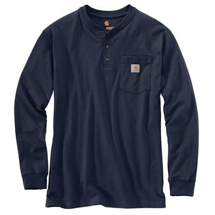 Men's Workwear Long Sleeve Henley T-Shirt