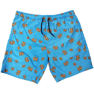 Men's Printed Swim Trunk