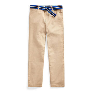 Junior Boys' [8-20] Belted Stretch Skinny Chino Pant