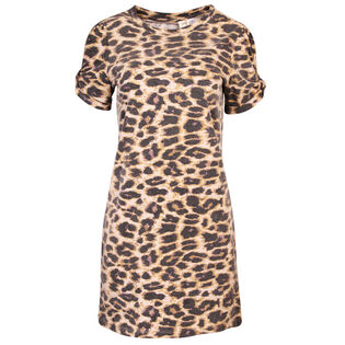Women's Leopard T-Shirt Dress