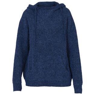Chandail à capuchon en tricot Salt Lake pour femmes