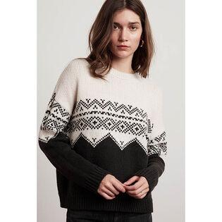 Women's Leanna Fair Isle Sweater