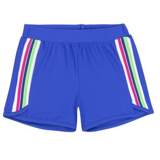 Girls' [3-6] Sport Stripe Short