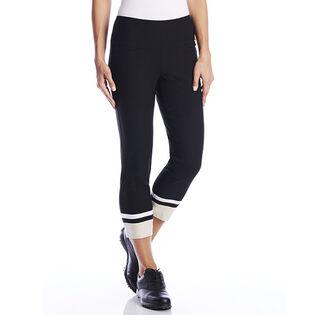 Pantalon raccourci contrastant Masters pour femmes