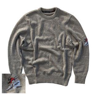 Men's Knit Ski Patch Sweater