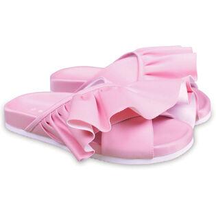Women's Ruffle Slide Sandal
