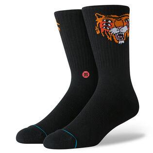 Chaussettes Ricardo Cavolo à motif de tigre unisexes