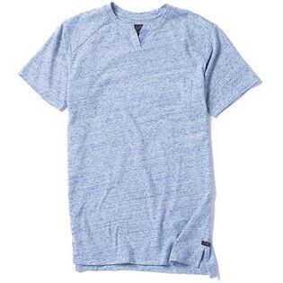 Men's Athletic Notch Jersey Crew T-Shirt