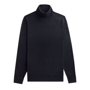 Men's Fine Gauge Roll Neck Sweater