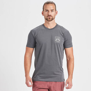 Men's Geometric Pocket T-Shirt