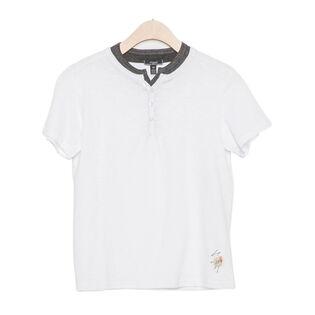 Junior Boys' [7-16] Layered Henley T-Shirt