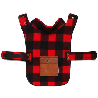 Buffalo Check Cape Dog Jacket
