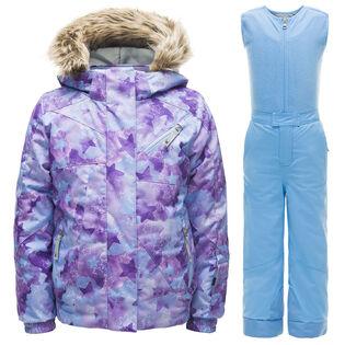 Girls' [2-7] Bitsy Lola Sparkle Two-Piece Snowsuit