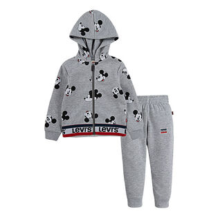 Boys' [2-4T] Disney® Mickey Hoodie + Pant Two-Piece Set